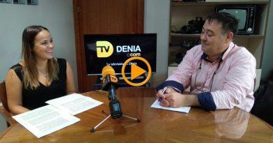 Melani Ivars Concejala de Educación en directo en tvdenia