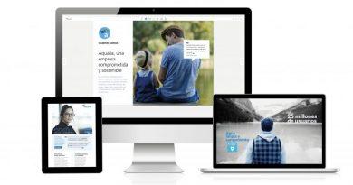 El Informe de Sostenibilidad 2019 de Aqualia, uno de los mejores del mundo en los Digital Communication Awards
