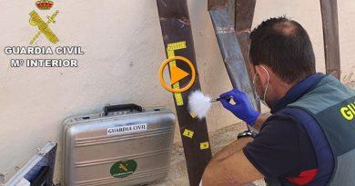 La Guardia Civil detiene a los autores del robo de las tuberías en más de una docena de viviendas de la Marina Alta