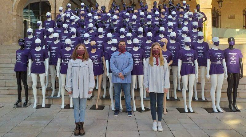 Las Fallas de Dénia se suman a la celebración del Día Internacional contra la Violencia de Género