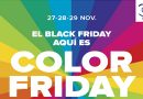 Portal de la Marina repartirá cientos de premios en su Black Friday Especial: Color Friday
