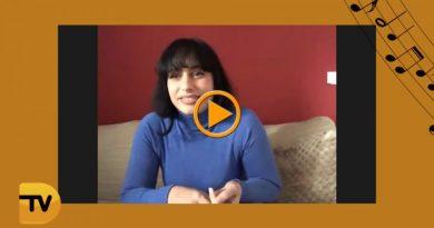 La cantante y compositora, Alba Santos, nos habla de música en«El Rincón de Tvdenia.com»