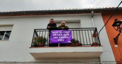 Feminismo en Jesús Pobre frente a la emergencia social en el 8 de marzo