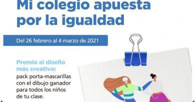 Un año más Aqualia reivindica la igualdad de género en Dénia, La Xara, Jesús Pobre y Els Poblets