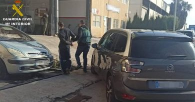 La Guardia Civil detiene al presunto autor del robo de 160 trapas de desagüe fluvial en Xàbia
