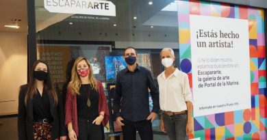Portal de la Marina y Adama apuestan por el apoyo a los artistas locales mediante un acuerdo de colaboración