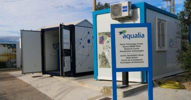 Nueva tecnología en la desaladora de Dénia para utilizar la materia orgánica de las aguas residuales como fuente de energía