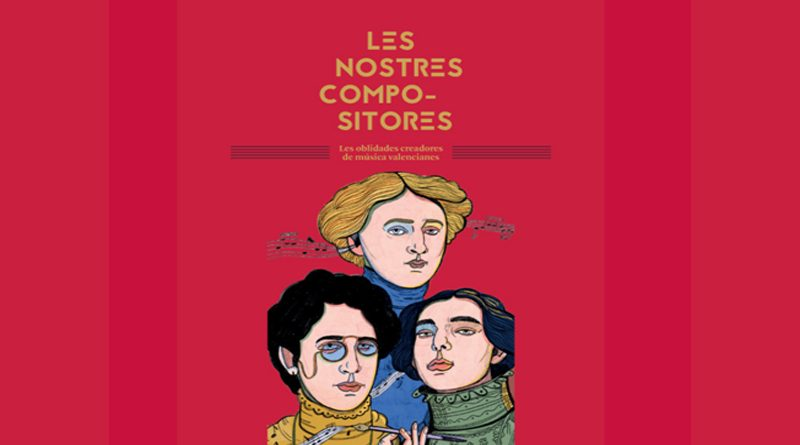 La Agrupació Artística Musical de Dénia inaugura la exposición «Les Nostres Compositores»