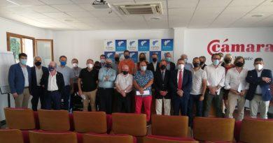 La Unión Empresarial de la Provincia de Alicante muestra su apoyo a los empresarios de la Marina Alta