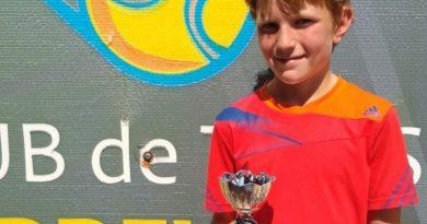 Los tenistas Neus Ramos y Austin Feltham finalistas del Torneo Moa