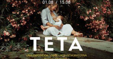 """Portal de la Marina presenta la exposición """"Teta"""", una obra sobre la lactancia materna"""