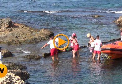 Nueva intervención de Cruz Roja, que rescata a una mujer en la Cova Tallada