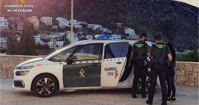 La Guardia Civil evita en Moraira y Calpe dos posibles delitos cometidos con el método del abrazo