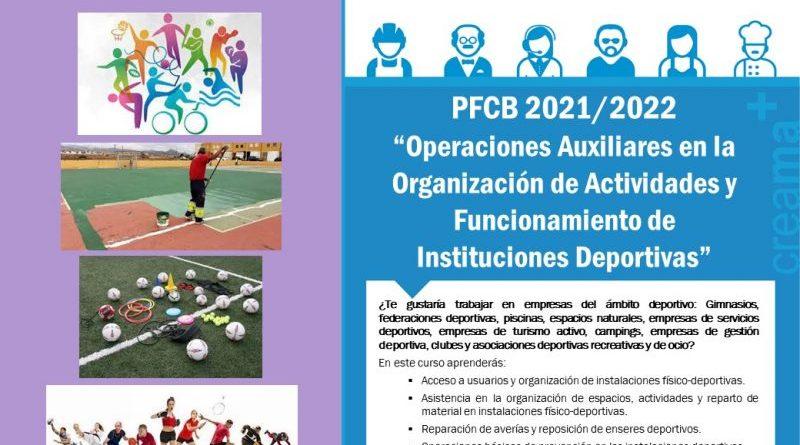 """El nuevo curso de Creama Dénia """"Operaciones auxiliares en la organización de actividades y funcionamiento de instalaciones deportivas"""""""