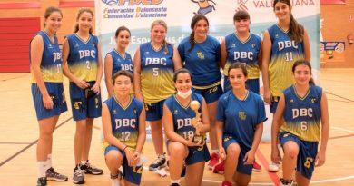 Las cadetes e infantiles del Dénia Basquet se alzan el título de campeonas de la Lliga Valenciana