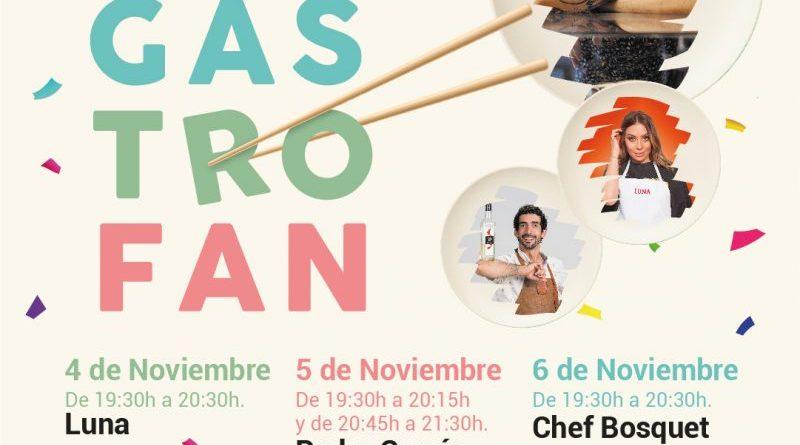 Portal de la Marina acogerá Gastrofan, el evento gastronómico que contará con chefs de renombre como Luna de MasterChef o Bosquet