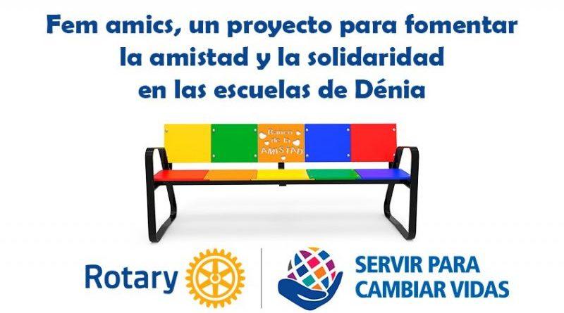 Fem Amics es el proyecto del Rotary Dénia para fomentar la amistad y solidaridad en las escuelas